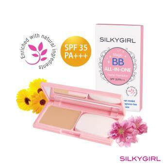 Harga SilkyGirl Magic Bb All-In-One Powder Foundation 02 (Natural)
