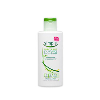 Harga SIMPLE Purifying Cleansing Lotion 200ml