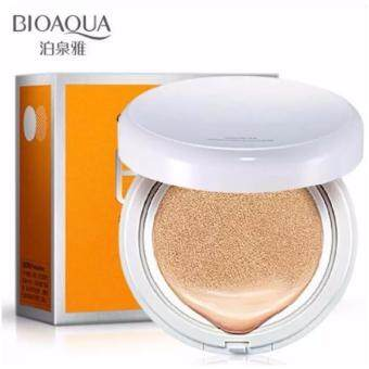 Harga Sinma BIOAQUA CC Concealer Foundation Cream / Air Cushion BB Cream (Light Beige)