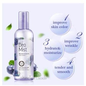 Skin Toner Mist Spray Bioaqua Blueberry Essence Whitening Toner Mist - Moisturizing Toner Spray For Face And Body - [ 270 ML ]