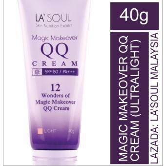 Harga SNE LA'SOUL MAGIC MAKEOVER QQ CREAM