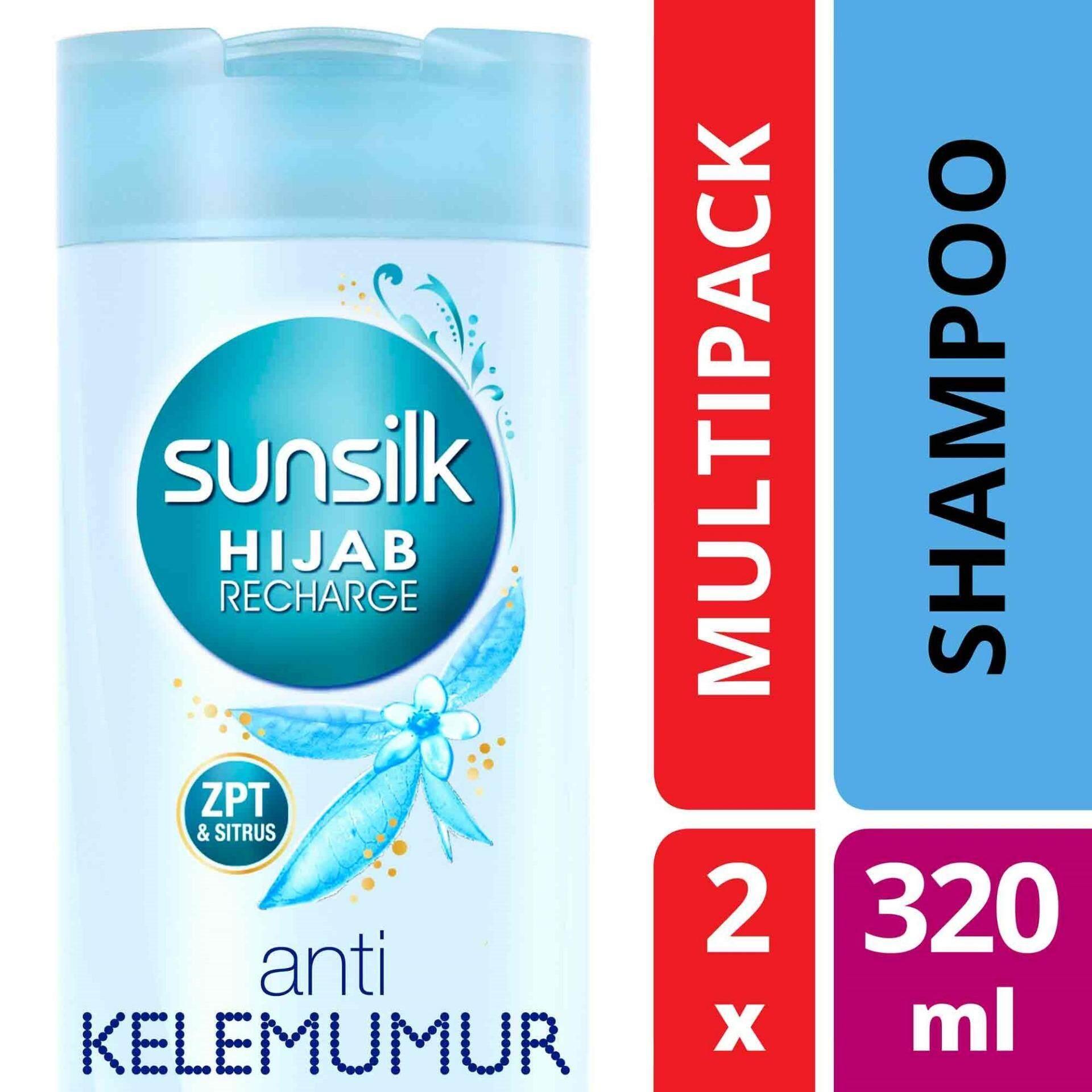 Sunsilk Hijab Anti Dandruff Shampoo 320 Ml X 2 Malaysia 170ml