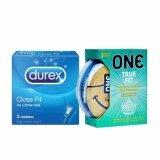 Tight Fitting Condoms: Durex Close Fit Condoms + One True Fit Condoms