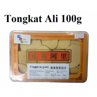 Tongkat Ali Slices 100g (<2inches) gift box
