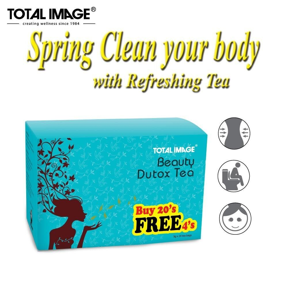 Total Image Beauty Dutox Tea 20 + 4s (detox & slimming)