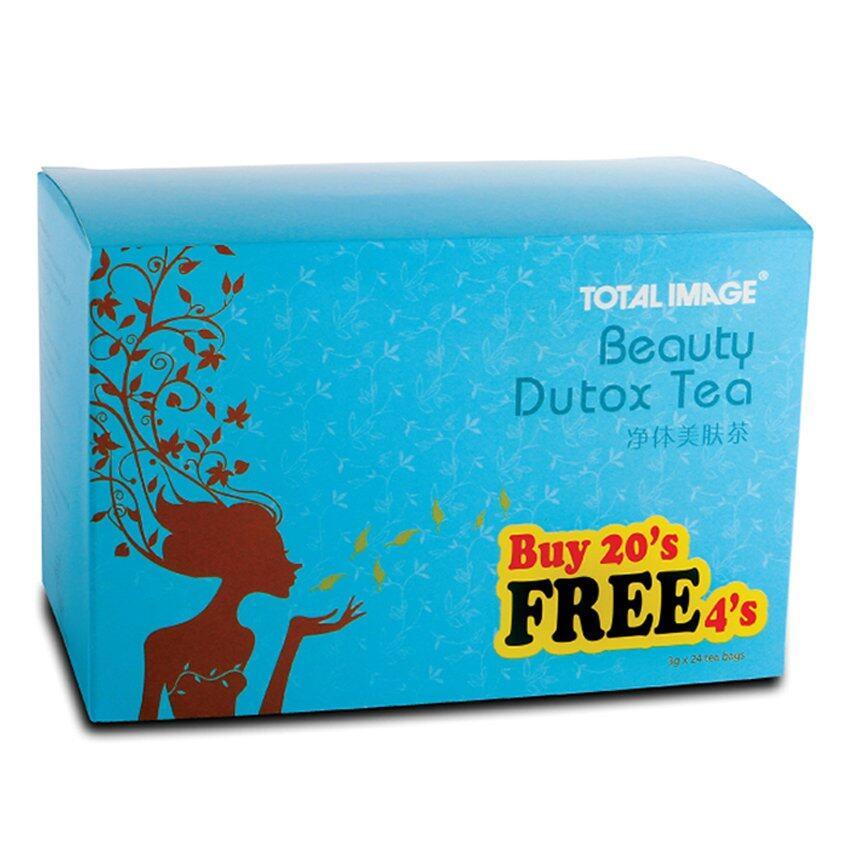 Total Image Beauty Dutox Tea 20 + 4s (detox & slimming)