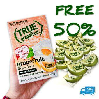 [True Lemon] True Grapefruit + FREE True Lime