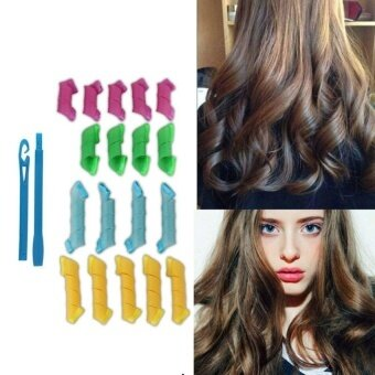 ... Alat Kriting Rambut Curly 2 Box Isi 24pcs. Source · UINN MAGIC LEVERAG 18pcs/set Magic Curler Easy to Use Hair StylingRollers Curlers multicolor -
