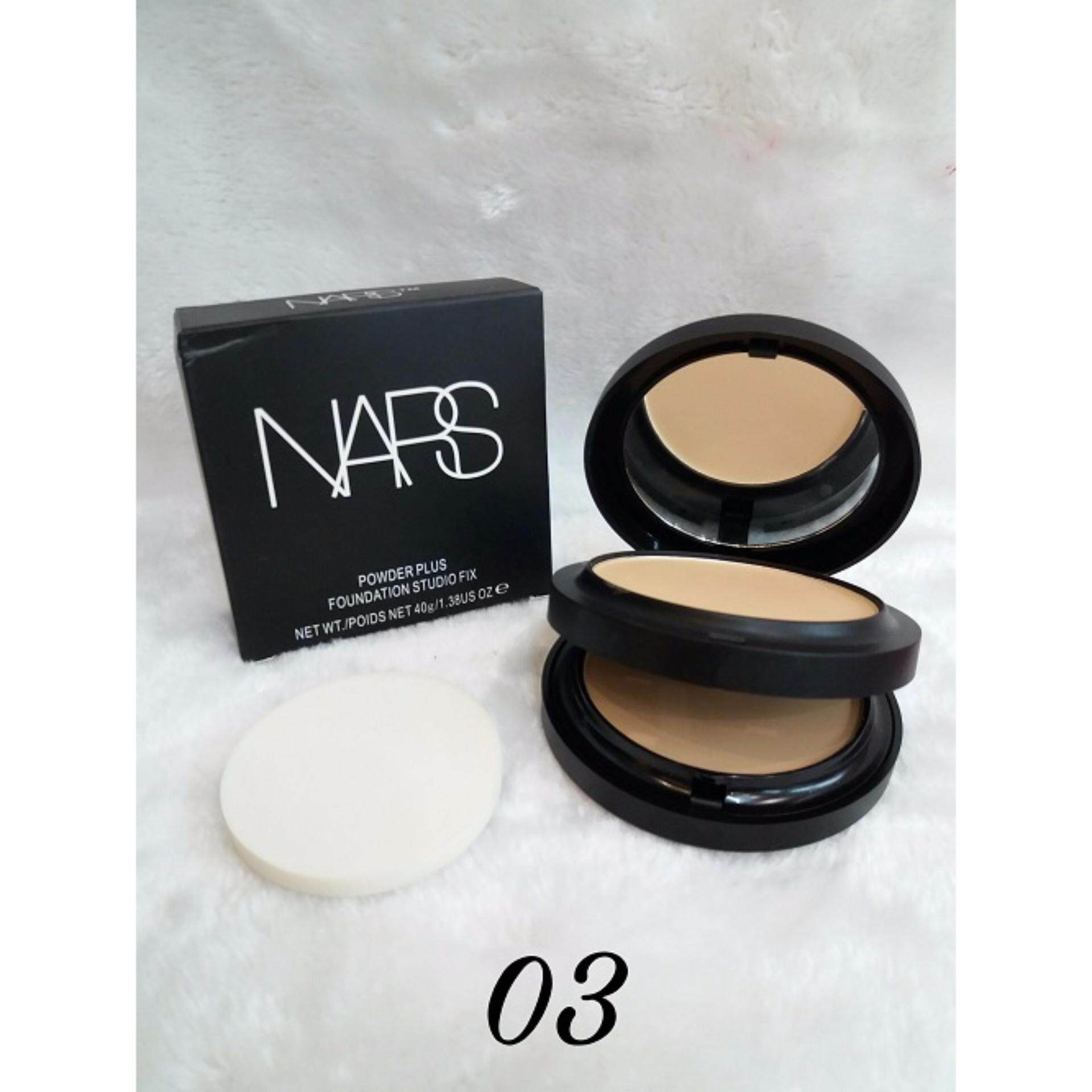 Value Buy Two Way Cake Nars Cosmetics Makeup Double Layer Oil Pixy Compact Powder Control Face Foundation