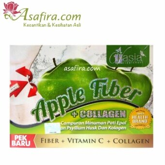Harga Vasia Apple Fiber Collagen - 2 Units