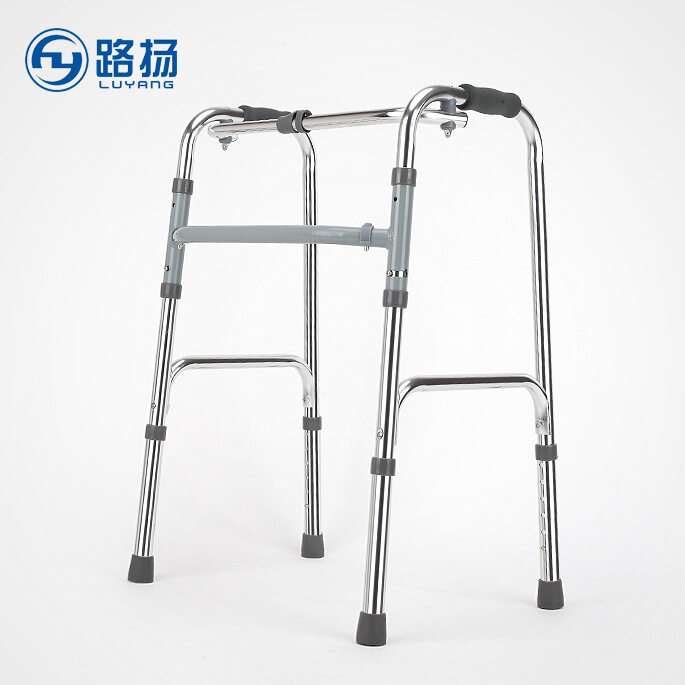 Walker Walking Aid Disabled Walking Crutch Chair Armrest Four Elderly Elderly Walker Walking Aid Mobility Aid Walker Frame For The Elderly Senior, Pregnant Woman, Disabled Patients Etc. - intl