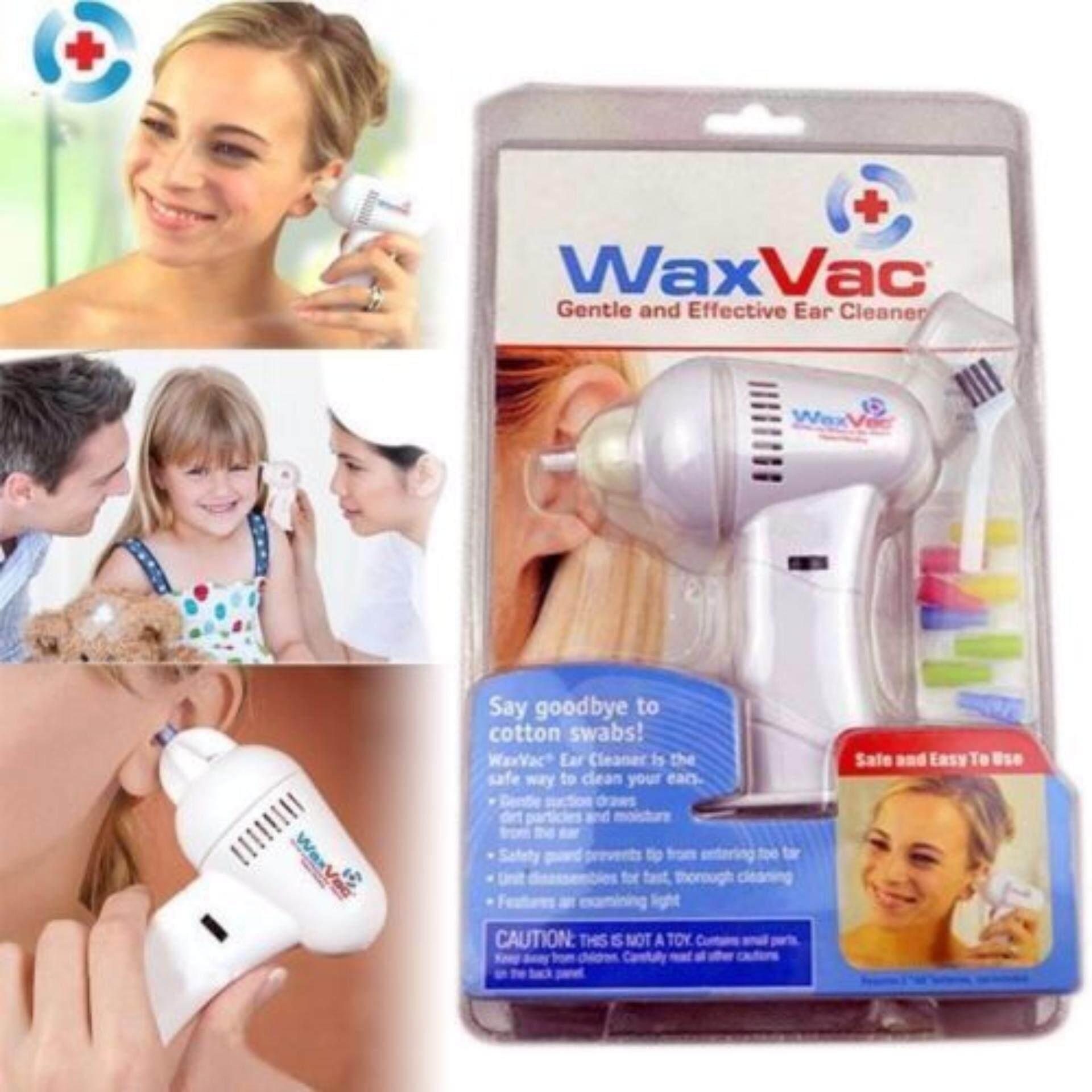 Waxvac Electronic Ear Wax Vac Cleaner Children Kids