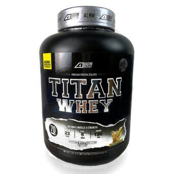 Whey Protein Halal - Titan Whey 2.1kg/4.63lbs,Whey Isolate With 22g Protein, 70 Servings - Fast Muscle Recovery (Vanilla Milkshake)