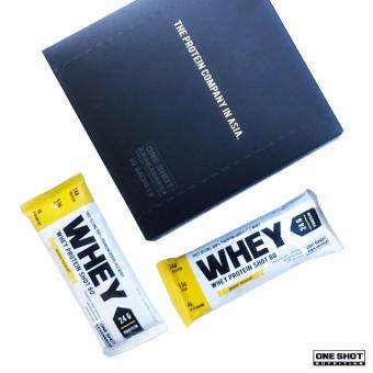 Whey Protein - One Shot Whey Protein Shot 80 | ConvenientlyPackaged 24g Protein in Single Serving (33g) | 20 Sachets (MatchaLatte)