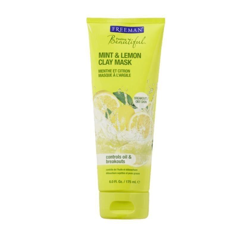 Wholesale Freeman Mint & Lemon Clay Mask Oily Skin 175ml X 12