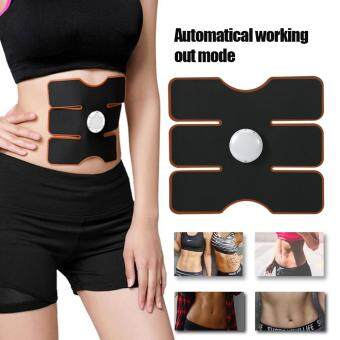 Wireless EMS Muscle Training Gear Arm Abdominal ABs Fitness PadBody Shaper for Arm Black