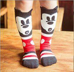 Kids Long Socks Knee Socks - Mickey Inspired