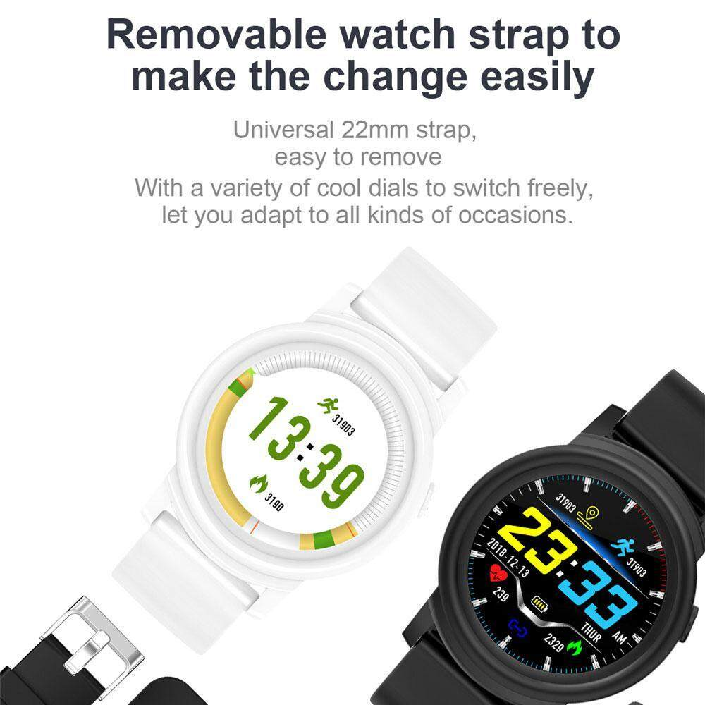 OrzBuy DK02 Smart Watch Color Touch Screen Pedometer Heart Rate Monitor  Blood Pressure Activity Tracker Sleep Monitor Camera Bluetooth Sport  Fitness