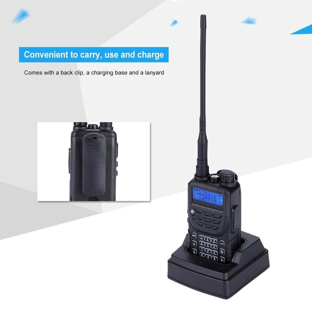 Radios - Walkie Talkie Waterproof Radio Transceiver Dual Band Antenna