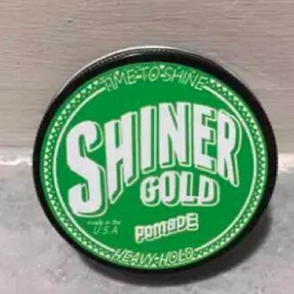[ Very Hot ] Shiner Gold Pomade Hair Gel - green