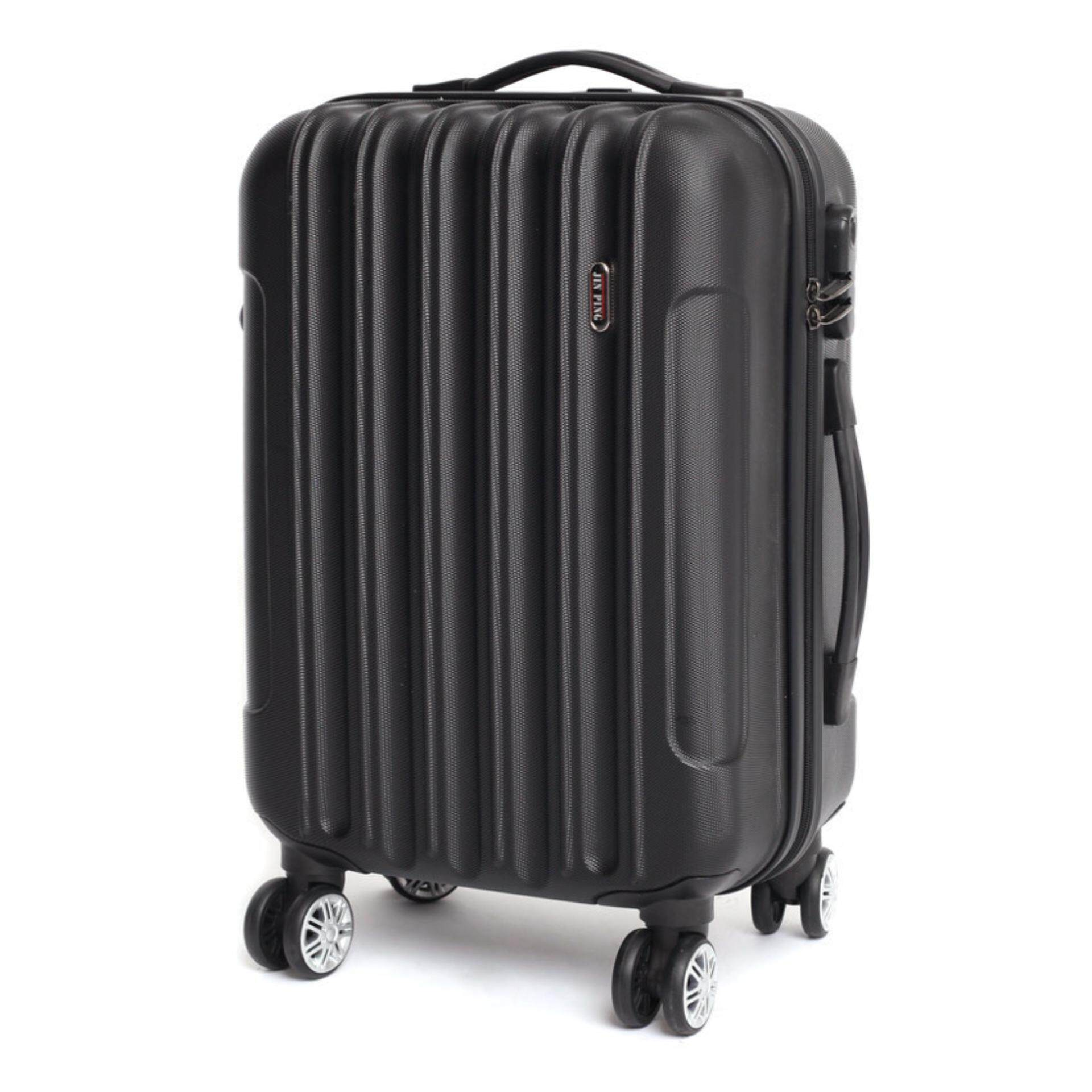 Voyage Hard Case ABS Luggage Bagasi- 20 Inches (Black)