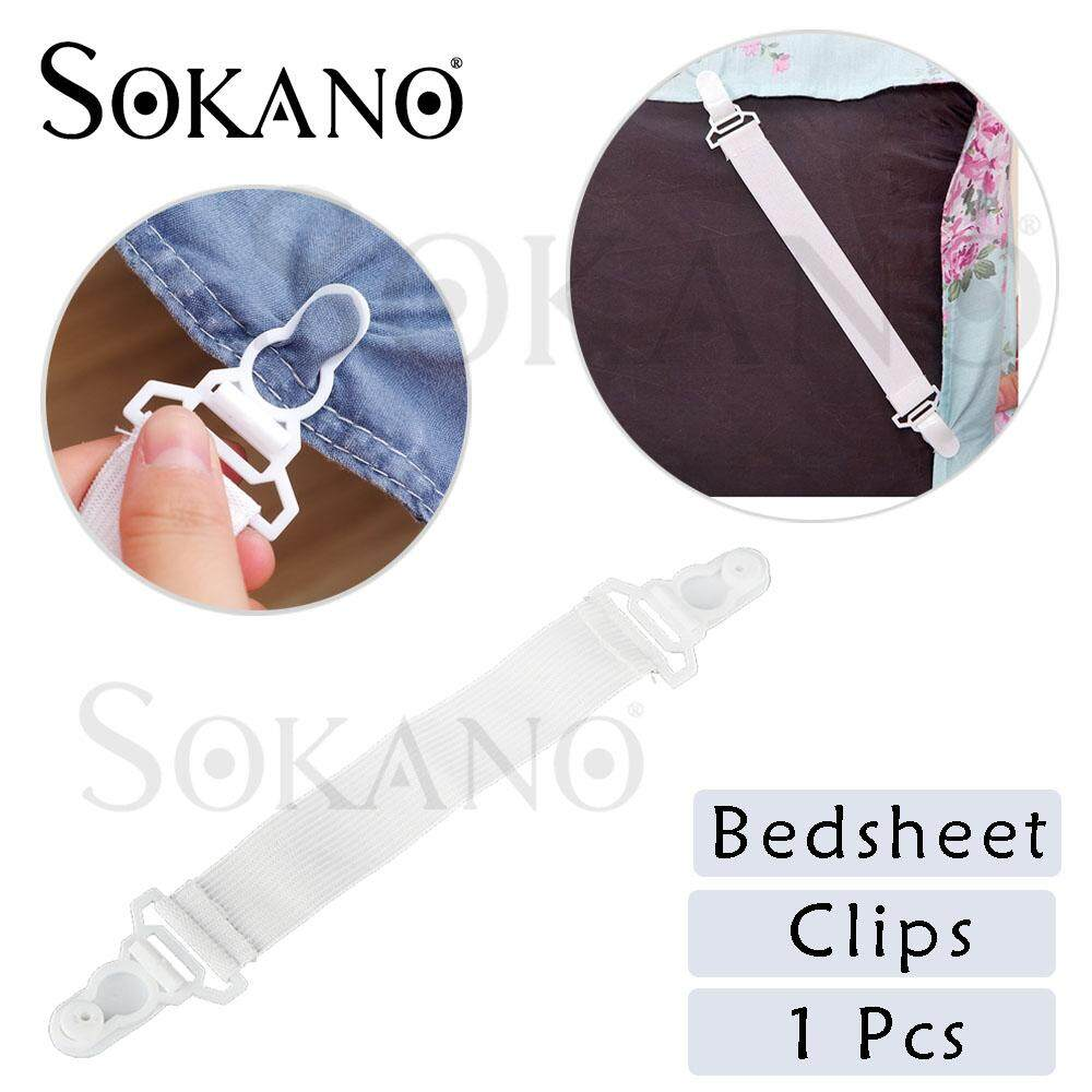 SOKANO BC01 Bedsheet Clips Bed Sheet Mattress Blankets Elastic Grippers Fasteners Clip Holder (BUY 12 FREE SHIPPING)