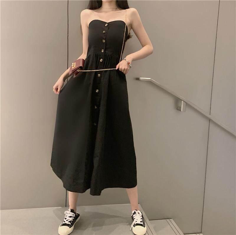(PRE ORDER) WOMEN TUBE TOP FRENCH SKIRT DRESS