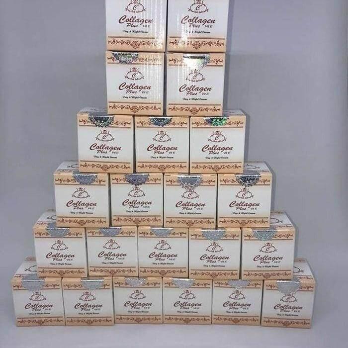 Collagen Plus Vit E Day Cream, Night Cream, Soap Full Set (Original Seal)