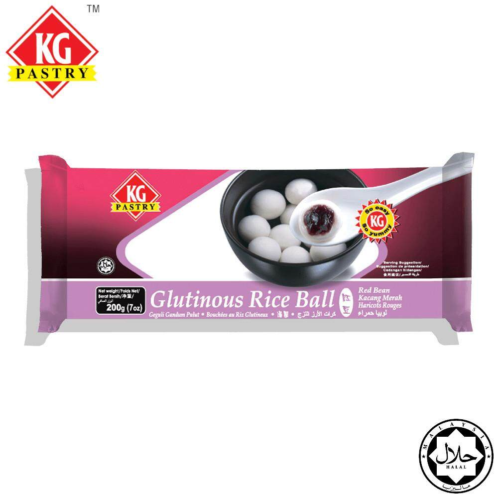 KG PASTRY Red Bean Tang Yuan (Glutinous Rice Ball) 10 pcs