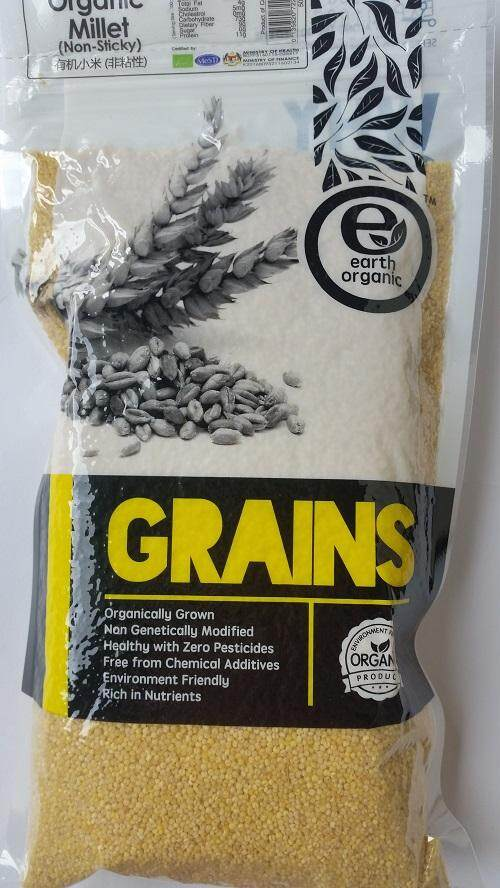 Earth Living Millet (non-sticky) 500g