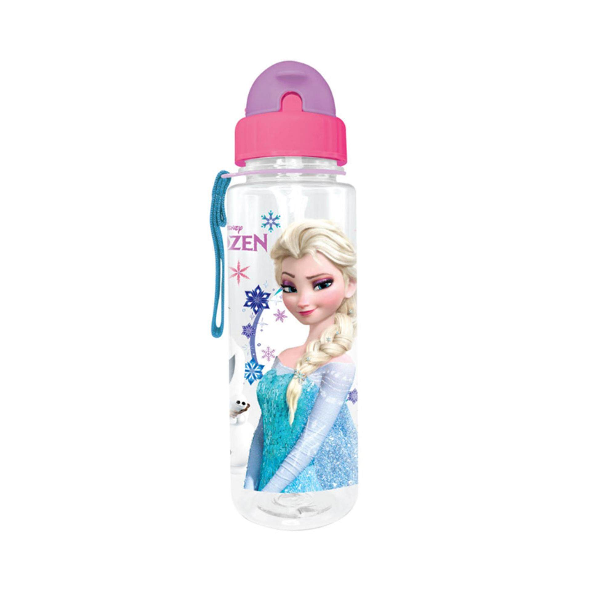 Disney Princess Frozen 650ML BPA Free Tritan Bottle With Straw - Multicolour