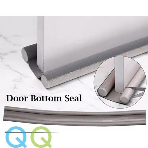 QQ 95CM Flexible Door Gap Seal Bottom Sealing Strip Sound Proof Noise Reduction Under Door Draft Stopper Dust Proof Window Weather Strip