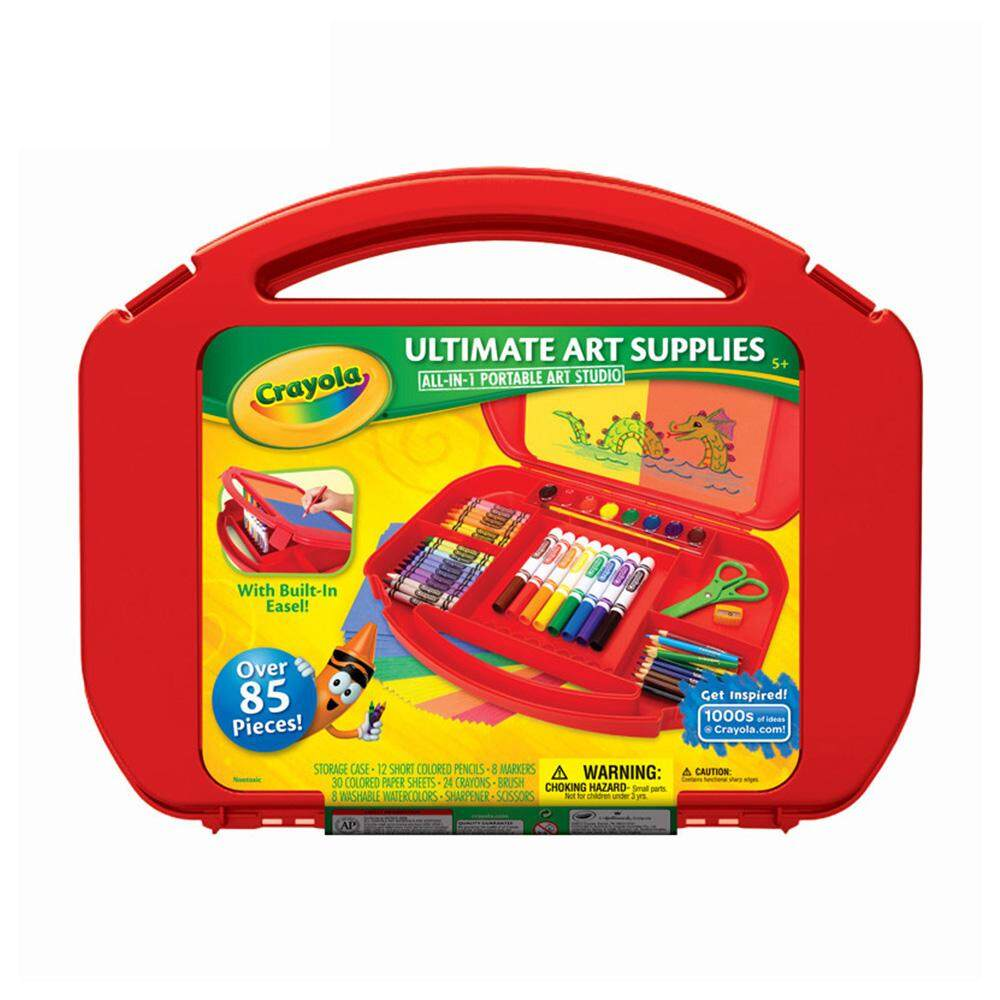 Crayola All In One Portable Art Studio - 045674