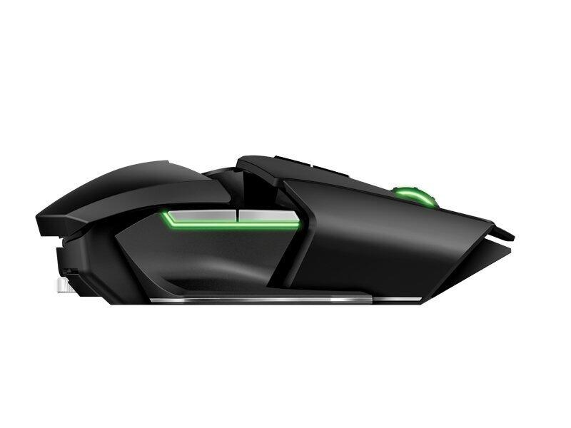 Razer Ouroboros - Dual Mode Wired & Wireless Ergonomic Gaming mouse(11 button 8200dpi 4G Dual Sensor) RZ01-00770100-R3A1