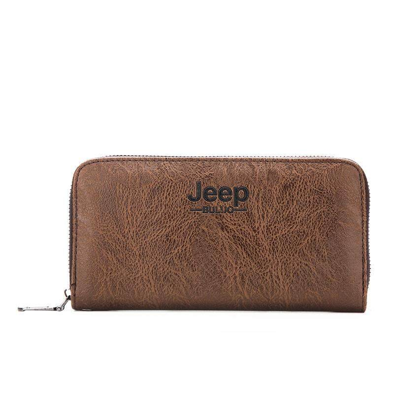 JEEP Zip Around Long Purse Wallet