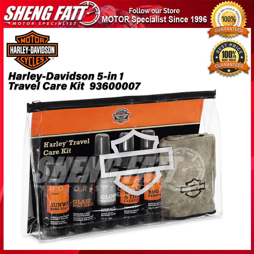 Harley-Davidson 5-in 1 Travel Care Kit 93600007 - [ORIGINAL]
