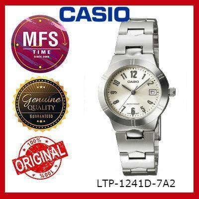 (2 YEARS WARRANTY) CASIO ORIGINAL ENTICER LTP-1241D SERIES LADIES WATCH