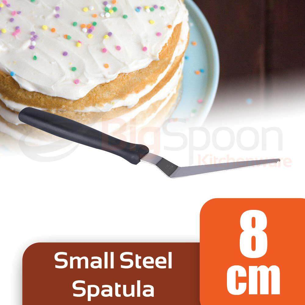 Small Stainless Steel Offset Spatula Cake Decorating Tools Kitchen Utensils