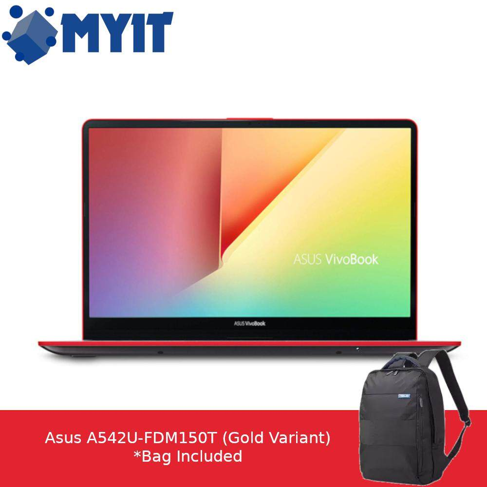 Asus Vivobook S530F-NBQ270T i5-8250U 4GB RAM 1TB HDD 128GB SSD 15.6 inch FHD Red / Grey Version Nvidia MX150 2GB W10 2 Year Warranty