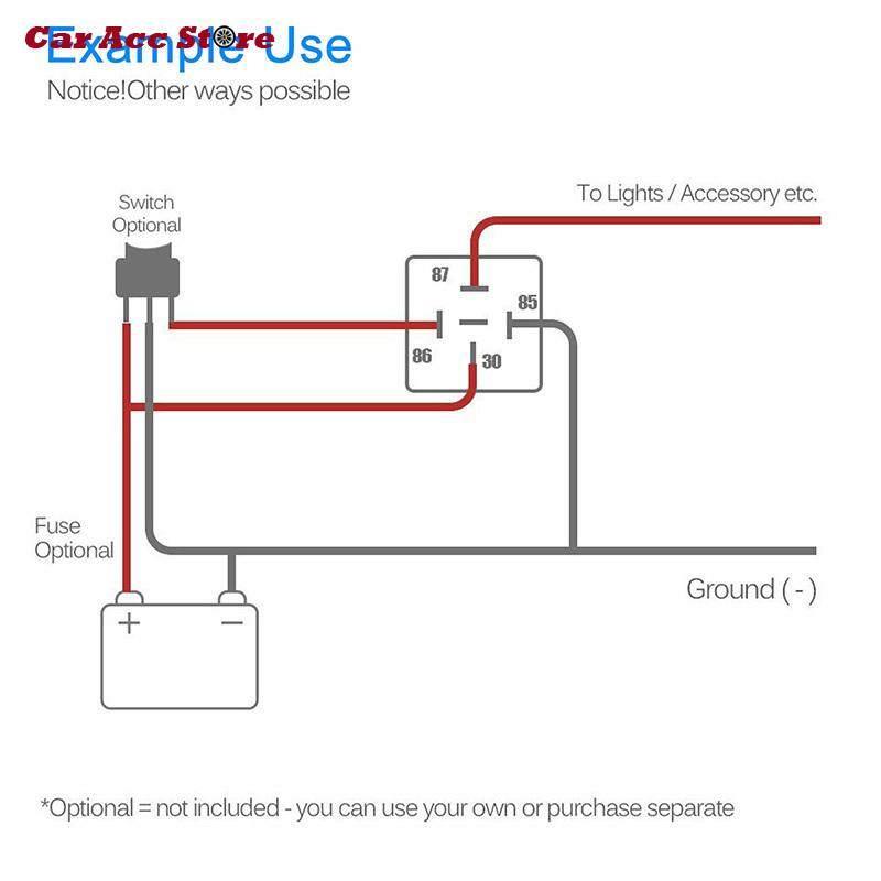 3040 amp relay wiring wiring diagram lowest price across internet】 5pcs set 12v 30 40 amp 5 pin spdt 3040 amp relay wiring