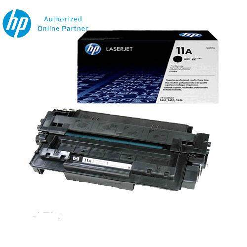 HP 11A Black Original LaserJet Toner Cartridge Q6511A