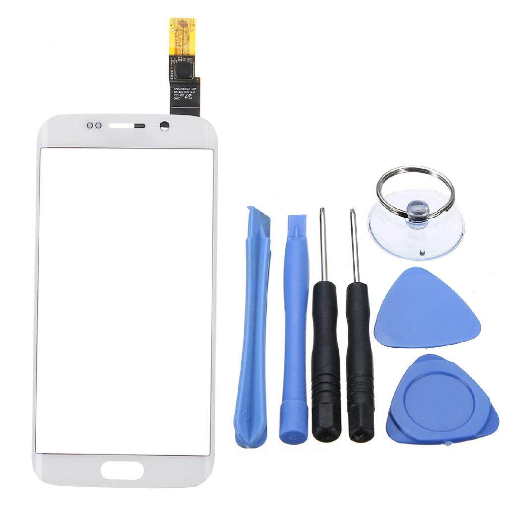 Touch Screen Digitizer Glass Panel For Samsung Galaxy S6 Edge - WHITE / BLUE / GOLD