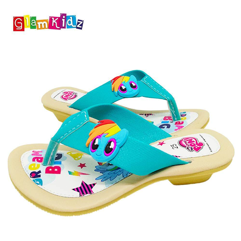 GlamKidz My Little Pony Girls Sandals (Green) #2536