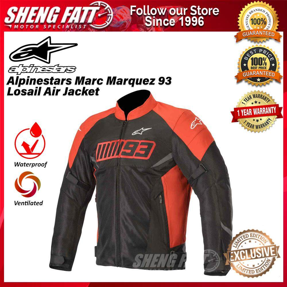 Alpinestars Marc Marquez 93 Losail Air Jacket Black LIMITED EDITION