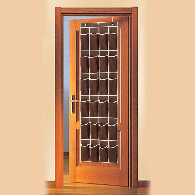 ... Cocotina 24 Saku Sepatu Ruang Pengatur Gantungan Pintu Rak Tas Dinding Lemari Penyimpanan Pemegang - 3 ...