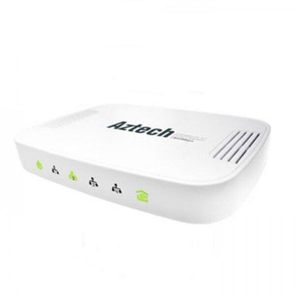 Aztech HL125RG 4 port Homeplug AV 500Mbps Gigabit Switch