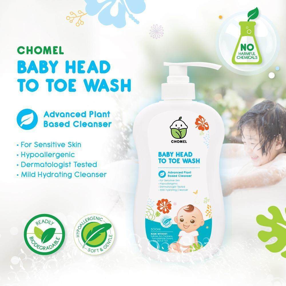 CHOMEL Baby Head To Toe Wash - 500ml