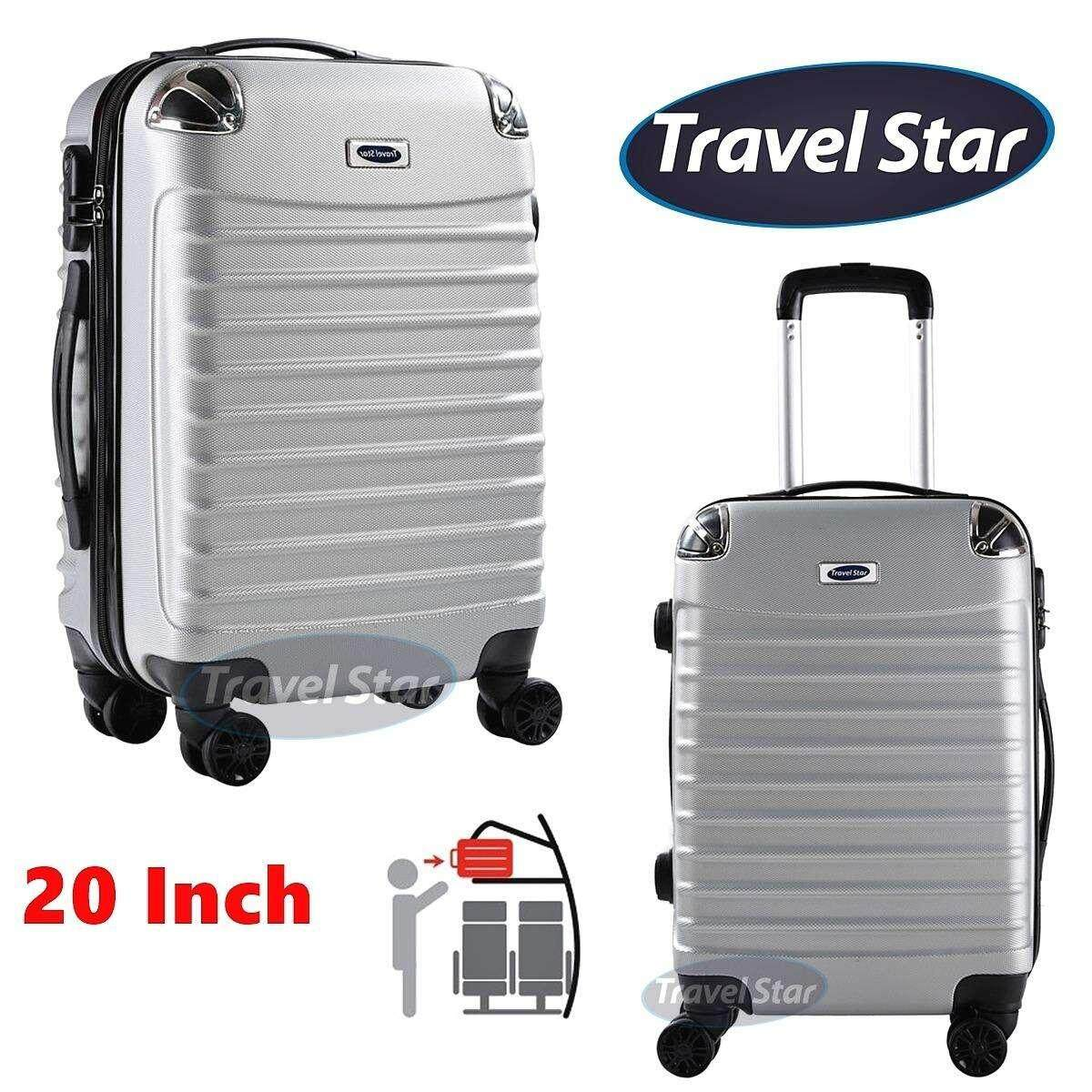 Travel Star 108 20 Inch Candy Colour Hard Case Luggage Bagasi (Free Passport Holder)