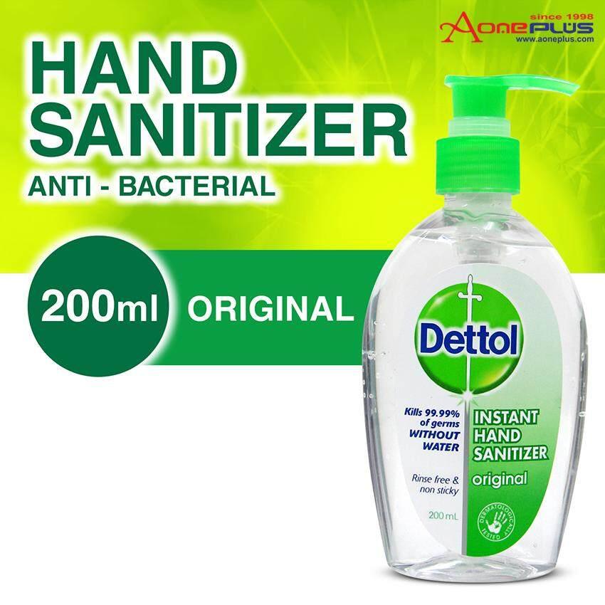 Dettol Hand Sanitizer Original 200ml