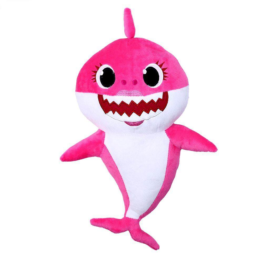 LightSmile Baby Shark Official Song Doll, Soft Dolls Baby Cartoon Shark  Toys With Music Cute Animal Plush Baby Toy Shark Dolls Singing English Song